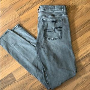 X long size 10 straight AE Jean